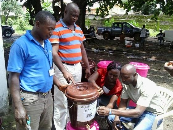 エボラ出血熱からシエラレオネを守るために必要な物資を届けたい
