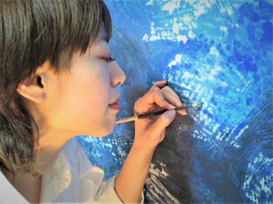 日本画現代アートの展示会を「古都KYOTO」で開催