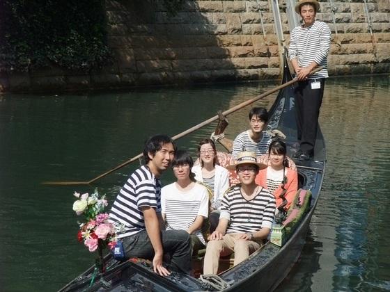 名古屋市に流れる堀川を渡るヴェネツィア製ゴンドラを修理したい