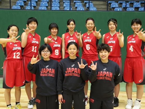 -音のないバスケ-  全員一緒に!女子日本代表、世界選手権へ