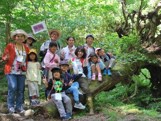 子どもたちを原生林に連れていきたい!!~本当の森体験ツアー