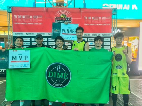 韓国プレミアリーグ初参戦!3x3バスケで世界一を目指す!
