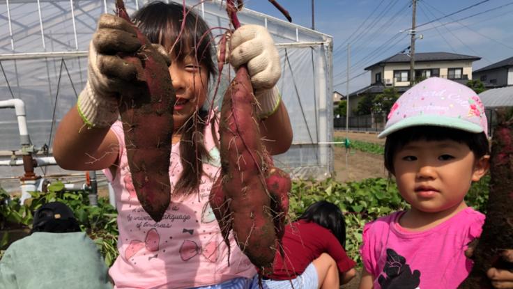 まっちゃん八百や児童館プロジェクト ~焼き芋は地域を救う~