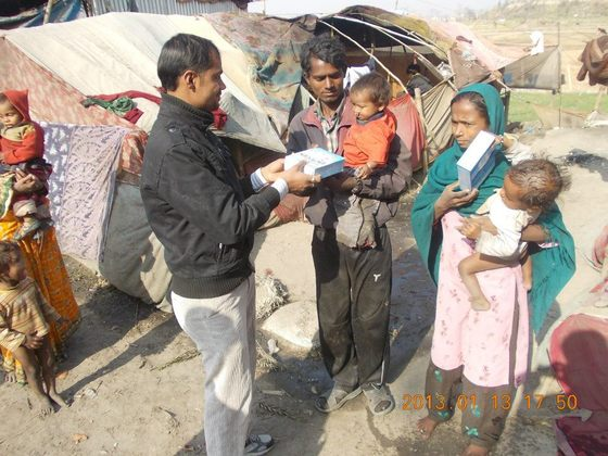 ネパールの赤ちゃんを助けたい!雪が降る前に粉ミルク支援を。