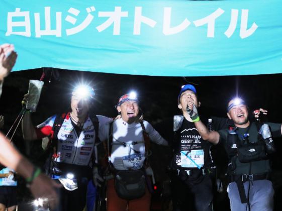 石川県の霊峰白山で、7日間250キロのグレートレースに挑む