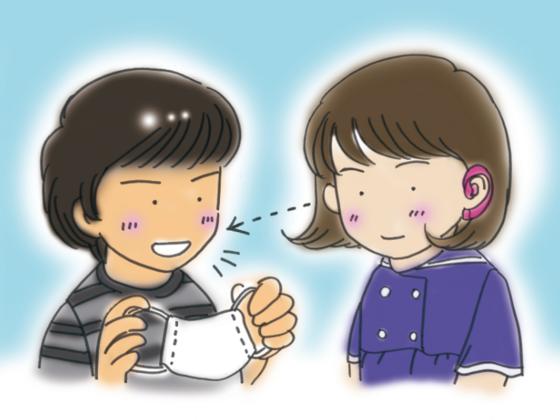 学校で聴覚障がい者に関して困る事って?マンガ冊子で伝えたい。