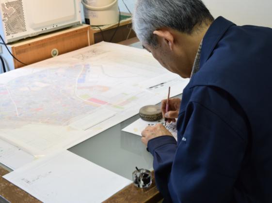 【美しい地図】手描き地図職人・宮坂和人マップアート作品集