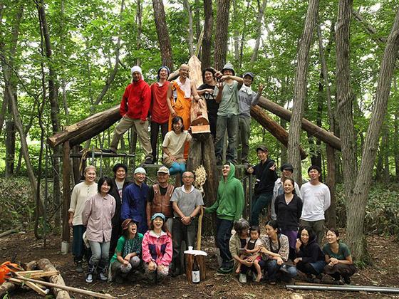 飛生の学校林を人が交流できる場所に再生し未来につなげたい!