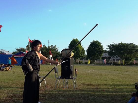 ベトナムの世界遺産と名所で弓道射礼をし、武道文化を発信します