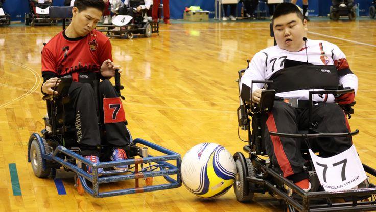 電動車椅子サッカー日本代表の挑戦。目指すはW杯の表彰台!