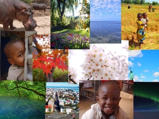 国内外の素敵な写真を募集し本にして西アフリカの子どもへ届ける