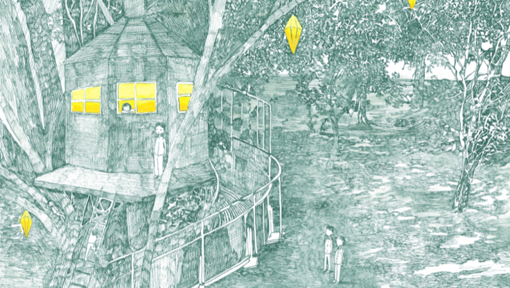 子供の頃夢見た秘密基地。上川町にみんなで作るツリーハウスを!