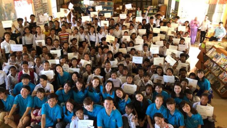 カンボジアの子供たちの未来のために英語教育を提供したい!