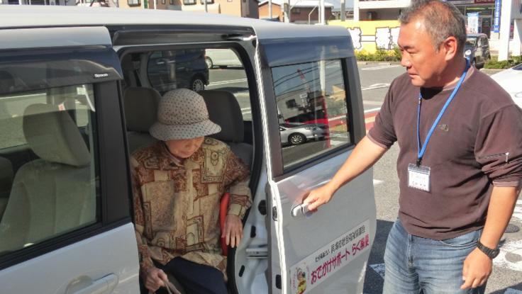 貝塚市の買い物困難者を減らす。移送サービスでつなぐ福祉のまち