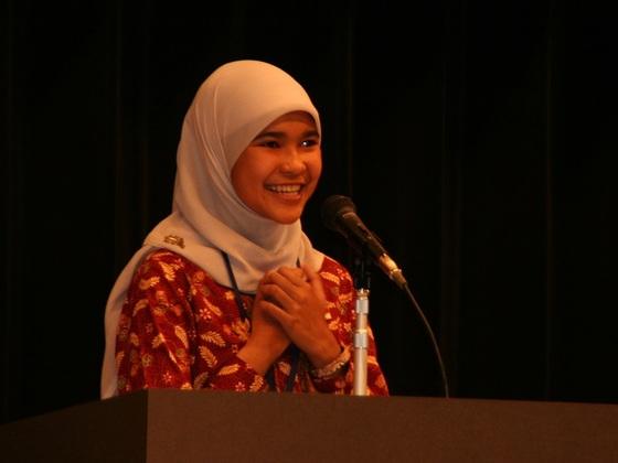 海外高校生による日本語スピーチの第20回記念大会を開催したい