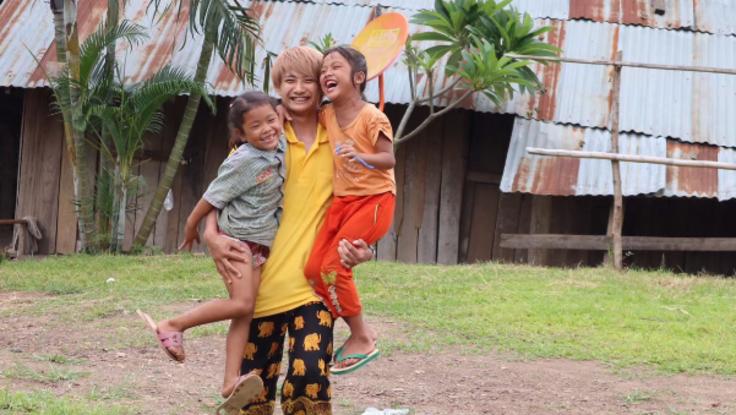 ラオスの子ども達に笑顔を!地図に載っていない村に校舎を建設