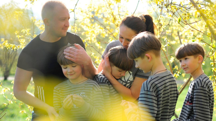 オーブンから始まる物語。ウクライナのお母さんに家族との時間を
