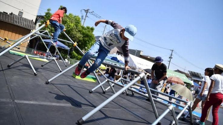 子どもたちが自由に遊べるパルクール広場で南三陸町を元気に!