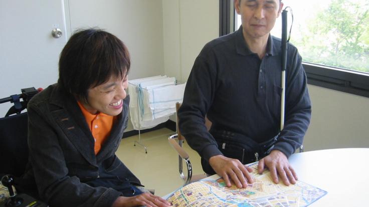 誰もが横浜の街を楽しめるように。「触る地図」をリニューアル!