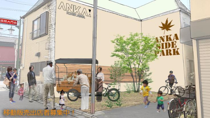 「アンカーサイドパーク」真間の商店街に公園を作ります!