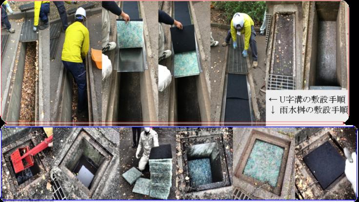 代々木公園を優先し都内公園の雨水桝に分別集水装置を寄付する