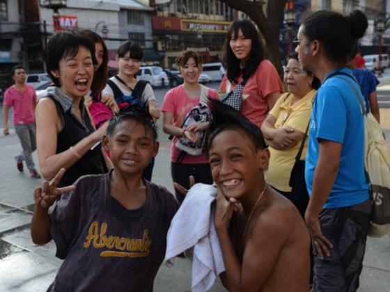 路上生活を送る子どもたちを支えるストリートエデュケーターを育てたい!