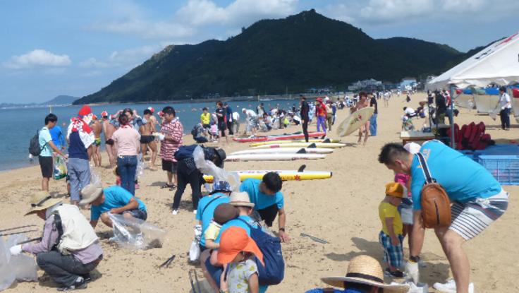 渋川海岸みんなでクリーンプロジェクト
