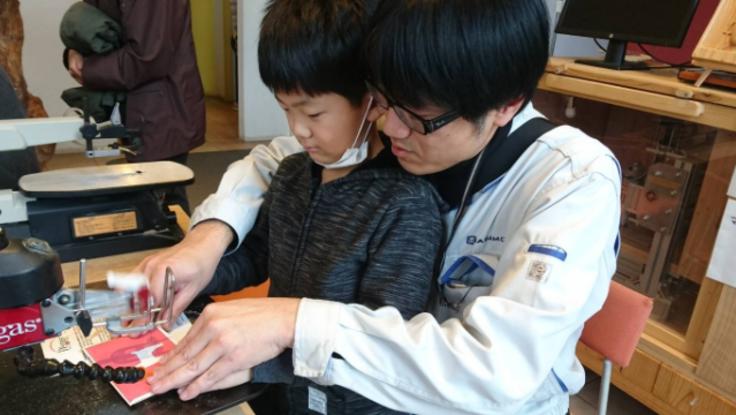 伝統 富山木象嵌を未来へ。いつでも体験できる場所を作りたい!