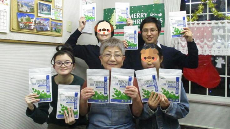 新しい英語教育を! 人と地球にいい「モリンガ」で!