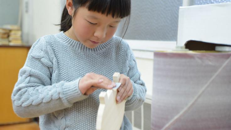 木のおもちゃ作りを体験できる 木のおもちゃ学校