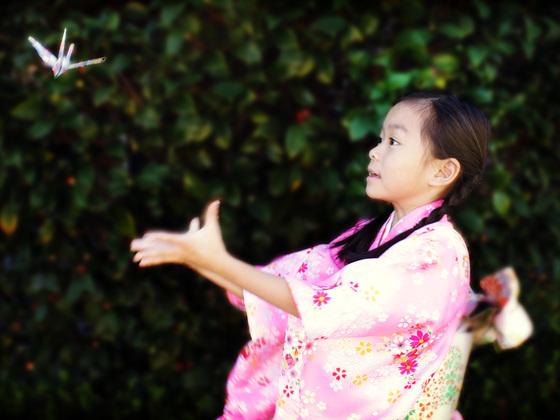 平和のシンボル「折鶴」の短編映画を作り、世界に発信したい!