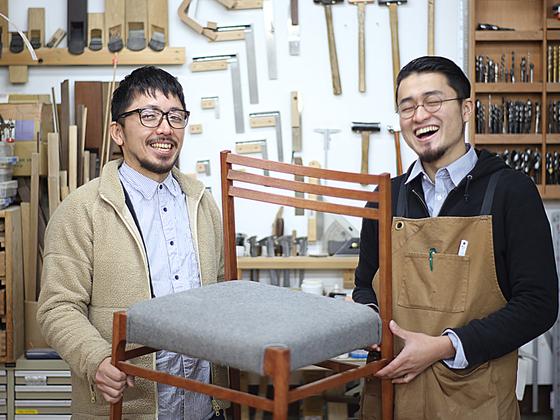 日本最大家具コンペで受賞作品に選ばれた椅子を商品化したい!