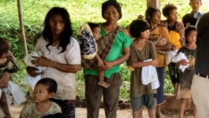 アジア最後の裸族ムラブリ族。水・食の環境を変えるためご支援を