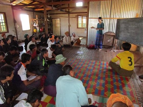 ミャンマーで有機農業を実践している農家の販路を作りたい!