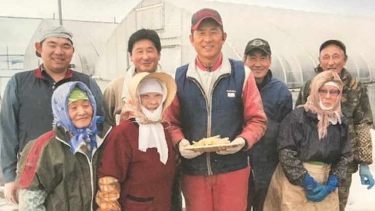 """秋田県大雄で作る""""里芋""""を子供たちの給食に届け続けたい。"""