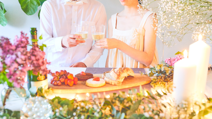 花嫁さんを応援する桜のドレスとホームウェディングを広めたい!