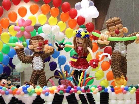 見て・ひねって・楽しんで!福島を風船で笑顔いっぱいにしたい