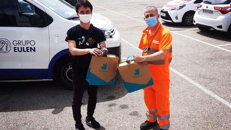 スペインマドリード:コロナ禍の失業者の方々へ食料支援を