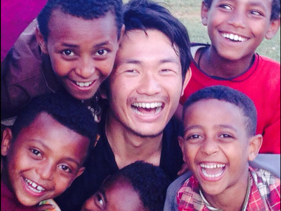 エチオピアの子どもに壊れないボールでサッカーをしてほしい!