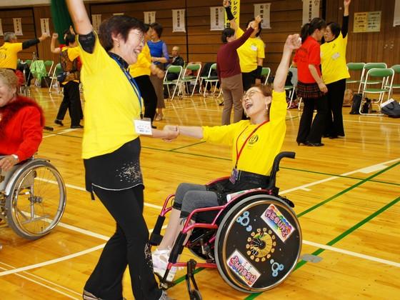 今年9月、長野県泰阜村で車椅子レクダンスの全国大会を開催!