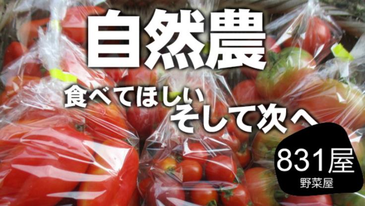 協力し合う農業へ!自然農野菜で生産者と消費者のWinWin