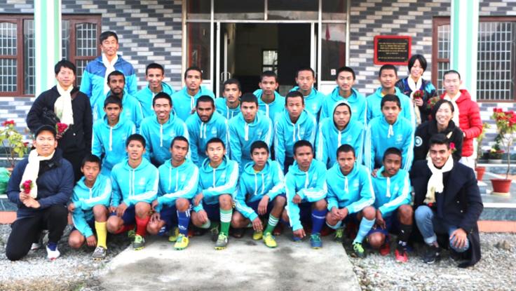 孤児だけのサッカークラブを支援してネパールの支援につなげたい