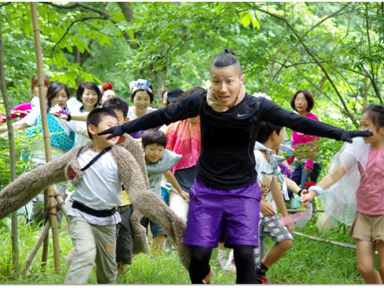 新宿の子どもたちに自然の中で表現する体験を継続して届けたい!