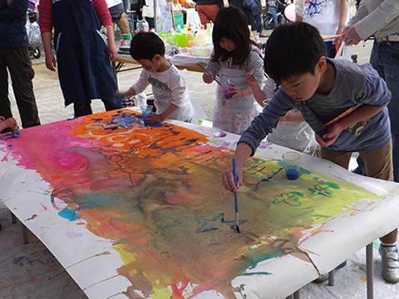 福島で障がいをもつ子たちの作品展とワークショップ開催したい!