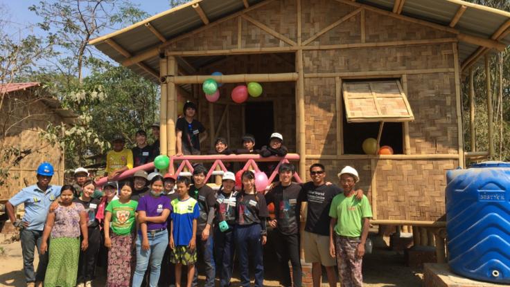 ミャンマーに安全な家を-学生に出来ること-