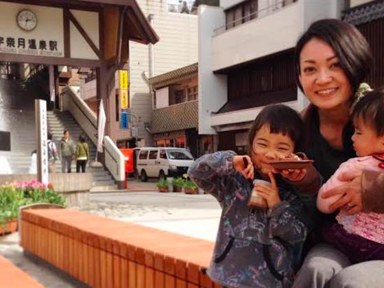 スイーツ移動販売自転車で富山県宇奈月温泉を再び活気ある街に!