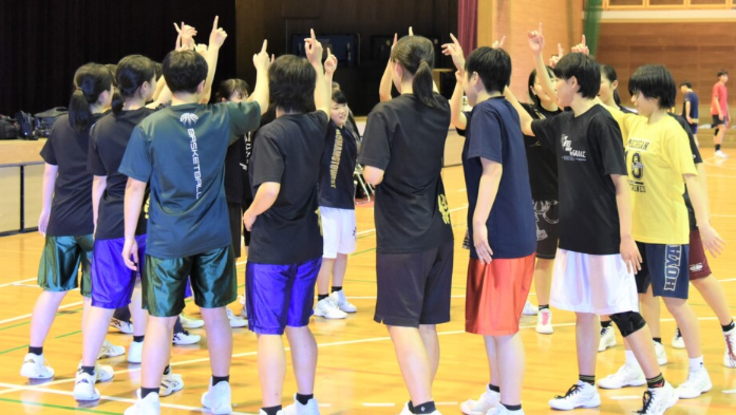 熊本県高校総体の中止になったバスケ選手に最後の大会を!