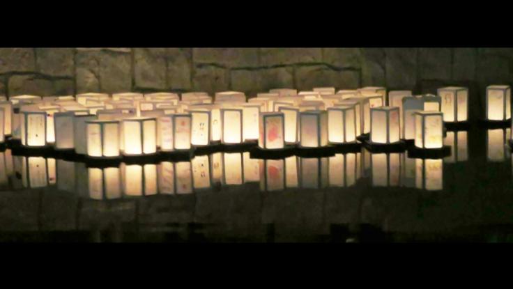 『灯ろう流し』の癒やしを大都市 大阪・堺の「風物詩」にする!