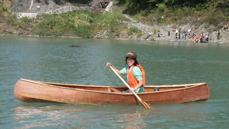 カヌーで冒険を。#冒険を知らない大人にならないために。