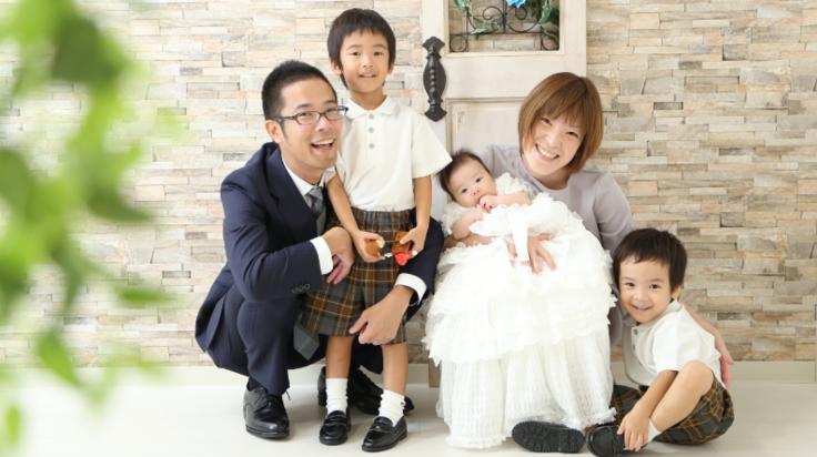 家族の「今」を写真で切り取るスタジオパレットMOMOテラス店